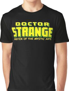 Doctor Strange - Classic Title - Clean Graphic T-Shirt