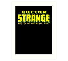 Doctor Strange - Classic Title - Clean Art Print