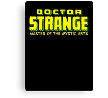 Doctor Strange - Classic Title - Clean Canvas Print