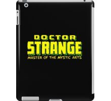 Doctor Strange - Classic Title - Clean iPad Case/Skin