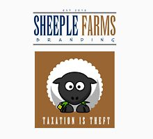 "Sheeple Farms: ""Delbert"" Unisex T-Shirt"