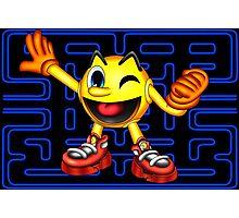 Pac-Man Maze Photographic Print