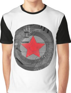 Winter Solider Shield Graphic T-Shirt