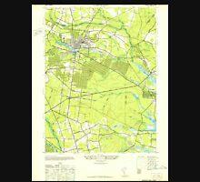 USGS TOPO Map New Jersey NJ Lakewood 254524 1947 24000 Unisex T-Shirt