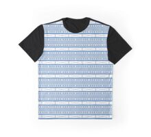 Abstract Weave Pattern Tile - F Graphic T-Shirt