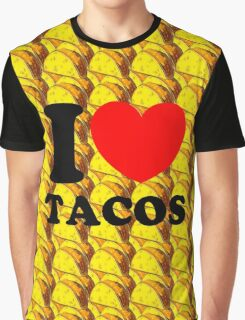 """I Heart Tacos"" Graphic T-Shirt"