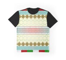 Abstract Weave Pattern Tile - B Graphic T-Shirt
