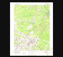 USGS TOPO Map New Jersey NJ Buena 254216 1953 24000 Unisex T-Shirt