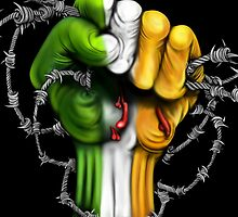 Irish Freedom Fist  by Sookiesooker