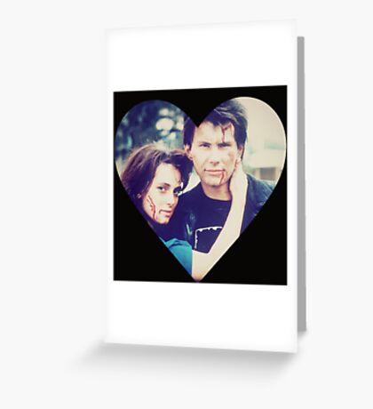Veronica & JD Greeting Card