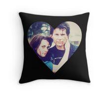 Veronica & JD Throw Pillow