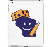 Another Happy Wisconsin Tailgator! iPad Case/Skin