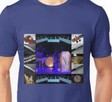Assorted Instruments Music Collage Unisex T-Shirt