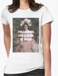 Angelica — Mind at Work Womens Fitted T-Shirt