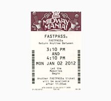 Toy Story Midway Mania Fastpass Unisex T-Shirt