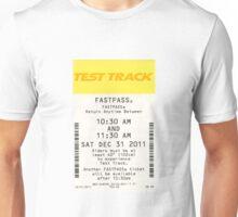 Test Track Fastpass Unisex T-Shirt