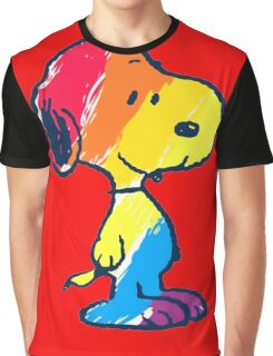 Snoopy Colorful Graphic T-Shirt