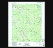 USGS TOPO Map New Jersey NJ Dorothy 254321 1994 24000 Unisex T-Shirt