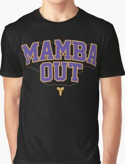 Black Mamba Out Graphic T-Shirt