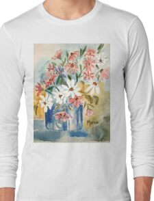 Cosmos in a pot Long Sleeve T-Shirt