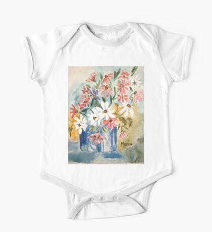 Cosmos in a pot One Piece - Short Sleeve