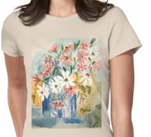 Cosmos in a pot Womens Fitted T-Shirt
