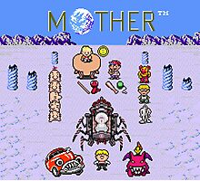 Earthboudn Mother Reference Smash Brothers Photographic Print