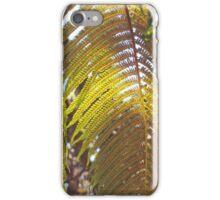 Fern: Hawai'i Volcanoes National Park iPhone Case/Skin
