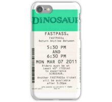 Dinosaur Fastpass iPhone Case/Skin