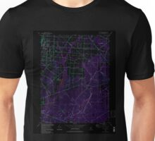 USGS TOPO Map New Jersey NJ Five Points 254374 1994 24000 Inverted Unisex T-Shirt