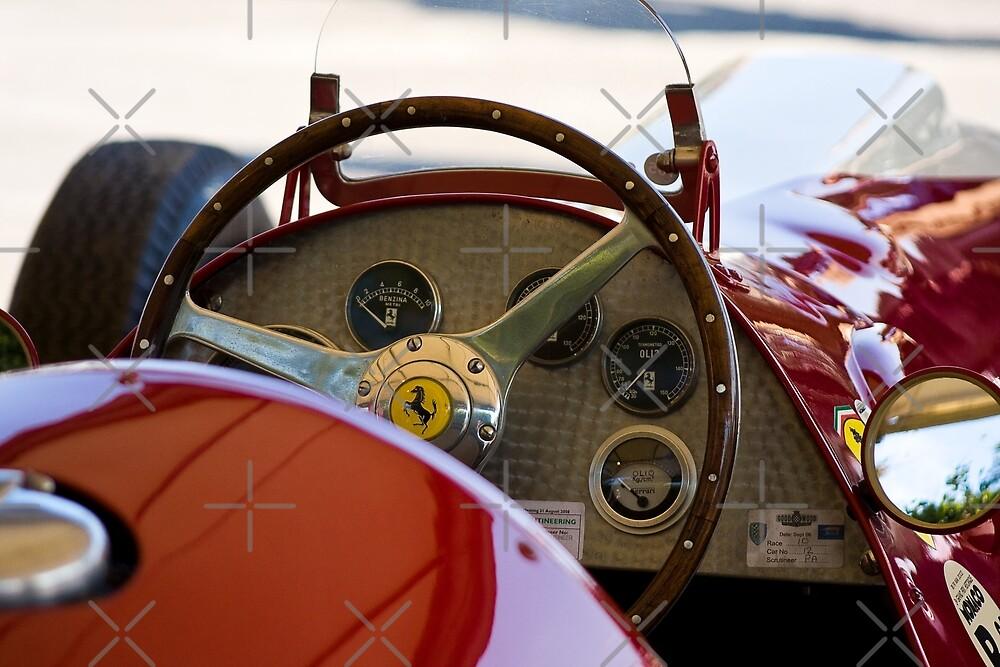 1950 Ferrari 212 F1 Interior by Andre Gascoigne