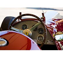 1950 Ferrari 212 F1 Interior Photographic Print