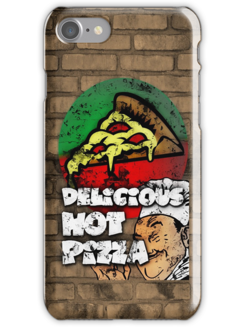 Delicious Hot Pizza  by CreativoDesign