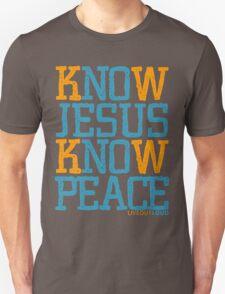 Know Jesus Know Peace No Jesus No Peace T-Shirt