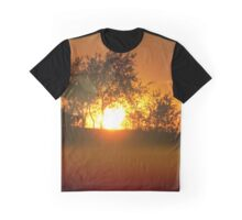 Sunset on the hill Graphic T-Shirt