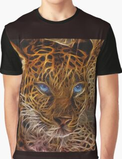 Blue Eyed Tiger Graphic T-Shirt