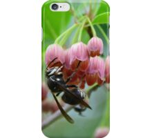 Wasp and Red Bells iPhone Case/Skin