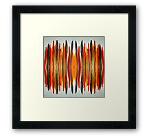 Shimmering Next to Each Other Framed Print