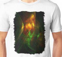 Alien Code Orange-Red Green Unisex T-Shirt