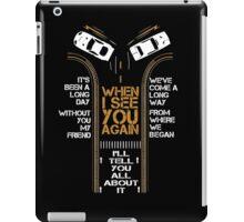 WHEN I SEE YOU AGAIN - PAUL WALKER iPad Case/Skin