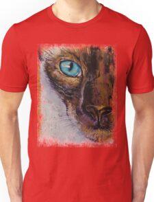 Siamese Cat Painting Unisex T-Shirt