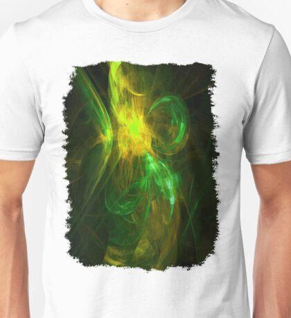 Alien Code 3 Yellow Green Unisex T-Shirt