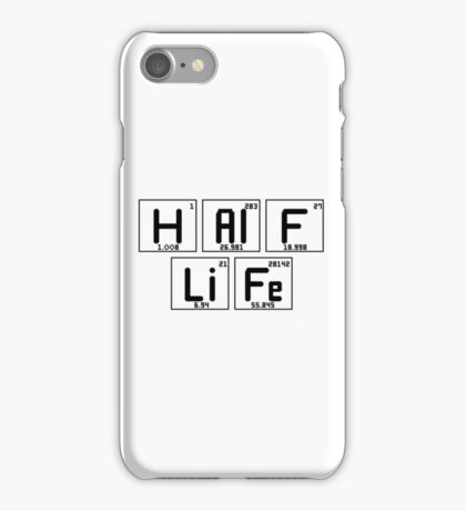 "Half-Life ""Periodic Table"" iPhone Case/Skin"