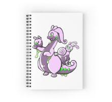 Goodra family Spiral Notebook