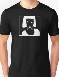 Have a Cig, Girl (white on black) Unisex T-Shirt