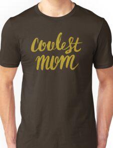 Black & Gold hip selection, for coolest mother Unisex T-Shirt