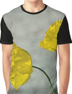 Two Yellow Blossoms Graphic T-Shirt