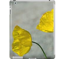 Two Yellow Blossoms iPad Case/Skin