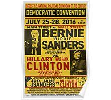 Bernie vs. Hillary poster Poster