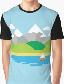 Sail Away Graphic T-Shirt